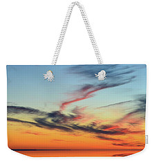 Fading Pink Reflection  Weekender Tote Bag