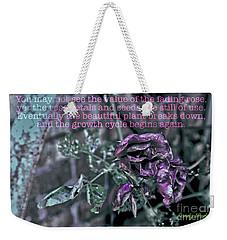 Fading Rose Weekender Tote Bag