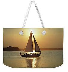 Fading Sun Weekender Tote Bag
