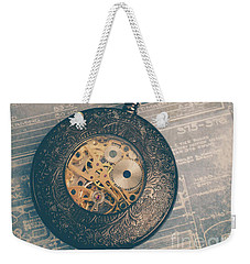Weekender Tote Bag featuring the photograph Fading Time by Edward Fielding