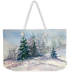 Fading Winter Light Weekender Tote Bag