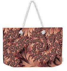 Weekender Tote Bag featuring the digital art Faerie Forest Floor I by Susan Maxwell Schmidt