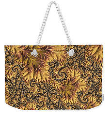Weekender Tote Bag featuring the digital art Faerie Forest Floor II by Susan Maxwell Schmidt
