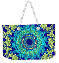 Weekender Tote Bag featuring the digital art Faerie Woods by Susan Maxwell Schmidt