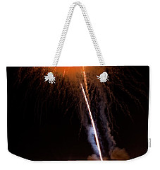 Fireworks As Seen From The Ventura California Pier Weekender Tote Bag