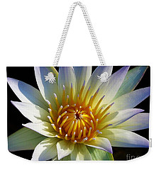 Weekender Tote Bag featuring the photograph Fairest Lily by Chad and Stacey Hall
