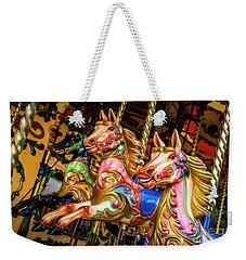 Fairground Carousel Horses Weekender Tote Bag