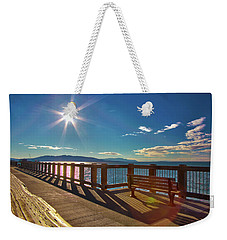 Fairhaven Boardwalk Weekender Tote Bag