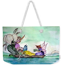 Fairies At Sea Weekender Tote Bag