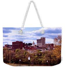 Fairmont West Virginia Weekender Tote Bag by L O C