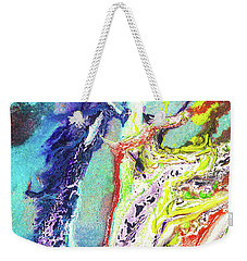Fairy Art - Colorful Abstract Fantasy Painting Weekender Tote Bag