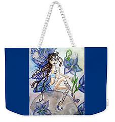 Fairy Blue Weekender Tote Bag
