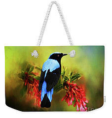 Fairy Bluebird Weekender Tote Bag