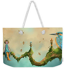 Fairy Chess Weekender Tote Bag