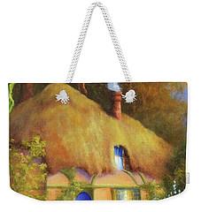 Fairy Cottage Weekender Tote Bag