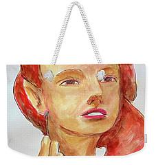 Fairy Face Weekender Tote Bag
