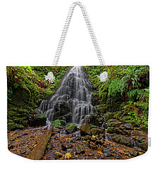 Fairy Falls Weekender Tote Bag by Jonathan Davison