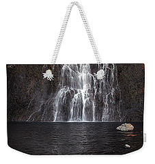 Weekender Tote Bag featuring the photograph Fairy Falls - Yellowstone National Park by Craig J Satterlee