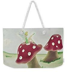 Fairy On Mushroom Trees Weekender Tote Bag