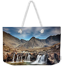 Weekender Tote Bag featuring the photograph Fairy Pools - Isle Of Skye by Grant Glendinning