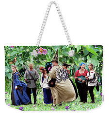 Fairy Queue Weekender Tote Bag