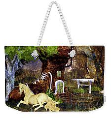 Fairy Retreat Weekender Tote Bag