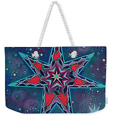 Fairy Star A Seven Pointed Star Weekender Tote Bag