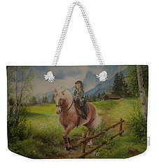 Fairy Tale In The Alps Weekender Tote Bag