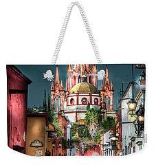 Fairy Tale Street Weekender Tote Bag