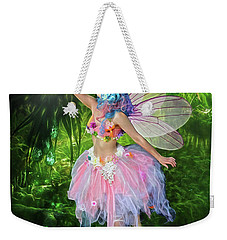 Fairy With Light Weekender Tote Bag