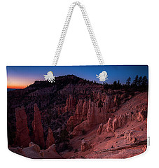 Weekender Tote Bag featuring the photograph Fairyland Canyon by Edgars Erglis