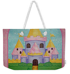 Fairytale Castle Weekender Tote Bag