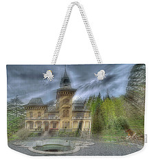 Weekender Tote Bag featuring the photograph Fairytale Villa - Villa Delle Fiabe by Enrico Pelos