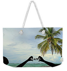 Weekender Tote Bag featuring the photograph Faith - Digital Art1 by Ericamaxine Price