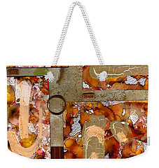 Faith Hope Love Weekender Tote Bag by Angela L Walker