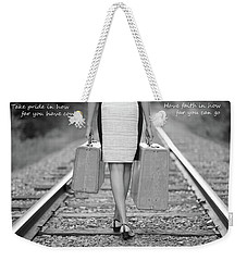 Faith In Your Journey Weekender Tote Bag