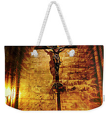 Faith, Light, And Hope Weekender Tote Bag by John Rivera