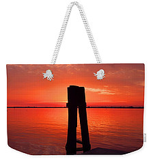 Faith Reunites Us Weekender Tote Bag by Michiale Schneider