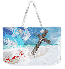 Faithfully Weekender Tote Bag