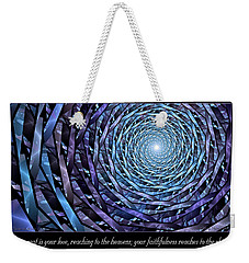 Faithfulness Weekender Tote Bag