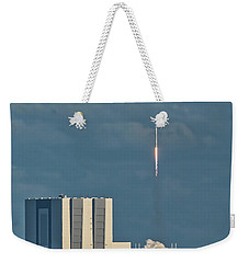 Falcon 9 Launch Weekender Tote Bag
