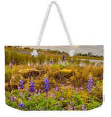 Zapata Falcon Lake 2 Weekender Tote Bag by Leticia Latocki