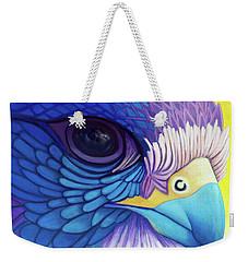Falcon Medicine Weekender Tote Bag