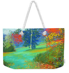 Fall Across The Field  Weekender Tote Bag by Rae  Smith PAC