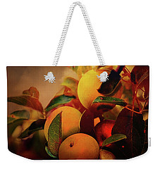 Fall Apples A Living Still Life Weekender Tote Bag