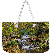 Fall At Bark Camp Creek Weekender Tote Bag