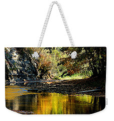 Fall At Big Creek Weekender Tote Bag