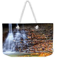 Fall At Blue Hen Falls Weekender Tote Bag