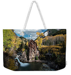 Fall At Crystal Mill Weekender Tote Bag