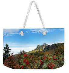 Fall At Grandfather Mountain Weekender Tote Bag